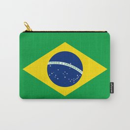 Flag of Brazil - Hi Quality Authentic version Carry-All Pouch
