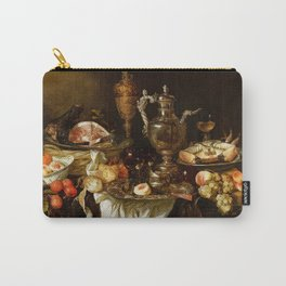 Jan Davidsz. de Heem Still Life With Crab And Fruit Carry-All Pouch