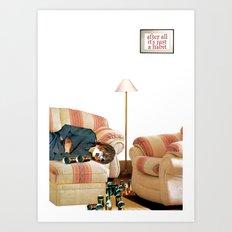 Habits / Alcohol Art Print