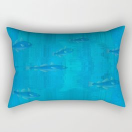 Fishes in clear water Rectangular Pillow