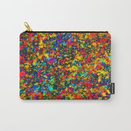 Inverted Watercolor Splash Abstract Painting Carry-All Pouch
