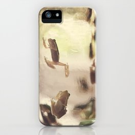 Frogs in a Jar 1 iPhone Case
