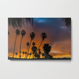 Blazing Sunrise in Laguna Beach Metal Print