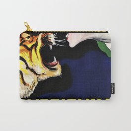 Vintage Avoriolina Bertelli Tiger Advertisement Wall Art Carry-All Pouch