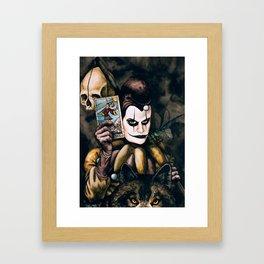 Tarot & Totems Framed Art Print