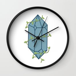 Vine Wrapped Crystal Wall Clock