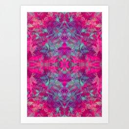 magic mandala 53 #mandala #magic #decor Art Print