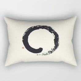 Enso / Japanese Zen Circle Rectangular Pillow