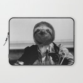Biker Sloth #2 Laptop Sleeve