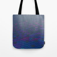 scales Tote Bags featuring Scales by Sahara Novotny