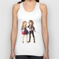teen wolf Tank Tops featuring Teen Wolf Ladies by Laia™