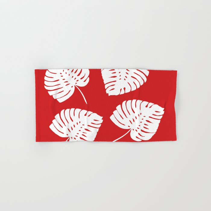 Tropical Red Hand & Bath Towel