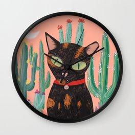 Princess the Cat Wall Clock