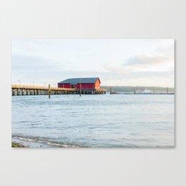 Coupeville Pier Sunrise Canvas Print