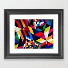 Colors and Design Framed Art Print