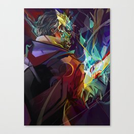 He who had the Favor Canvas Print