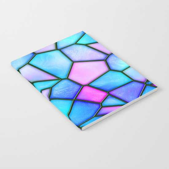 pastel stained glass Notebook