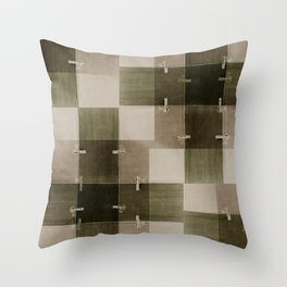 random pattern Throw Pillow