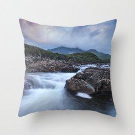River Sligachan II Throw Pillow