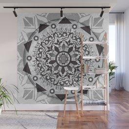 Entangled Mandala Wall Mural