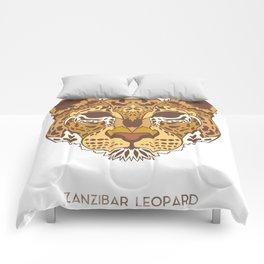 Zanzibar Leopard Comforters
