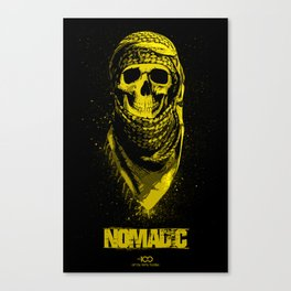 The 100 - Nomadic Grounders (Yellow) Canvas Print