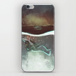 Child of the Depths iPhone Skin