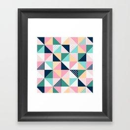 Braided tape Framed Art Print