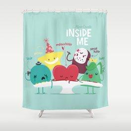 Inside Me Shower Curtain