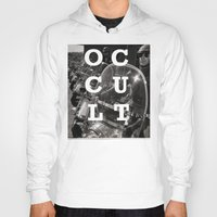 occult Hoodies featuring Occult by Mario Zoots
