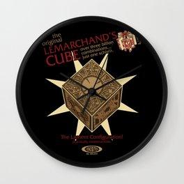 Lemarchand's Cube - Hellraiser Wall Clock