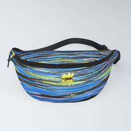 Yellow Waterlily Fanny Pack