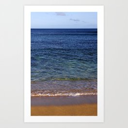 Cemetary Bay, Norfolk Island Art Print