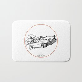 Crazy Car Art 0115 Bath Mat