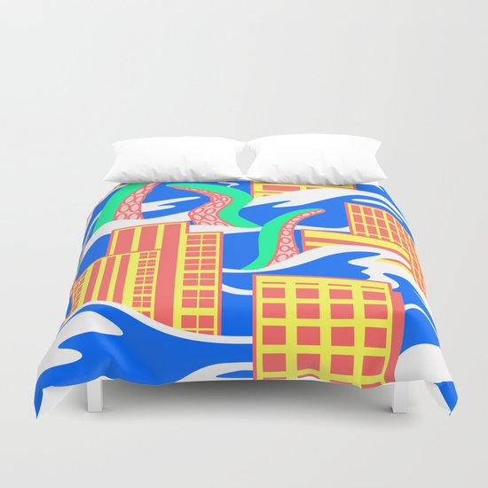 Flooded Duvet Cover