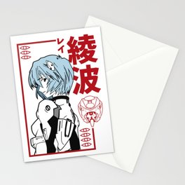 Rei Ayanami Evangelion Stationery Cards