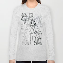 Ghosts of Charlie Sheen Long Sleeve T-shirt
