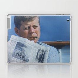 JFK SMOKING Laptop & iPad Skin