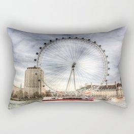 The London Eye Rectangular Pillow