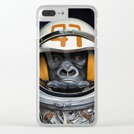 Space Ape Clear iPhone Case