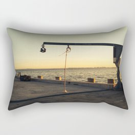 Natant Wharf Rectangular Pillow