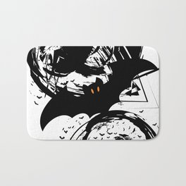 Bats ink splash Bath Mat
