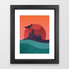 Hogwarts Summer Framed Art Print