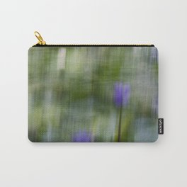 Tropical Impressionism (Purple Water Lily) Carry-All Pouch