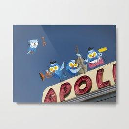 Harlem Owls Metal Print