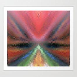 the abstract vagina Art Print
