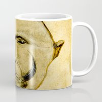 tribal Mugs featuring tribal  by Ganech joe