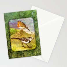 Two birds Stationery Cards
