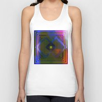 square Tank Tops featuring Square by Mr & Mrs Quirynen