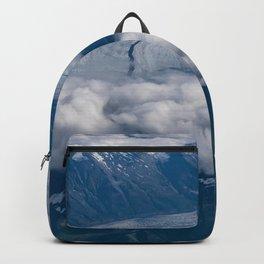 Aerial Glacier Two - Alaska Backpack